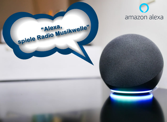 Musikwelle Amazon Alexa
